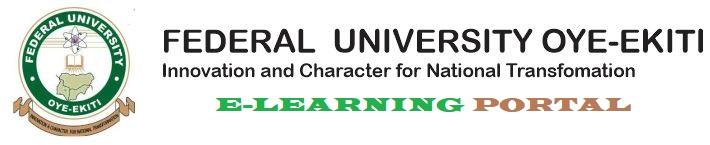 FUOYE   E-LEARNING PORTAL